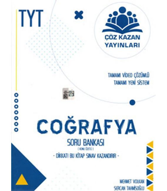 Çöz Kazan Yayınları TYT Coğrafya Konu Özetli Soru Bankası