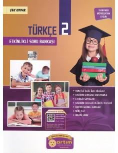 Artım Yayınları 2. Sınıf Etkinlikli Türkçe Soru Bankası