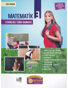 Artım Yayınları 3. Sınıf Etkinlikli Matematik Soru Bankası