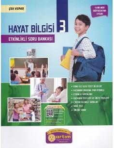 Artım Yayınları 3. Sınıf Etkinlikli Hayat Bilgisi Soru Bankası