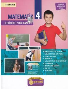 Artım Yayınları 4. Sınıf Etkinlikli Matematik Soru Bankası