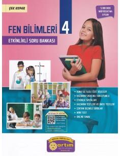 Artım Yayınları 4. Sınıf Fen Bilimleri Etkinlikli Soru Bankası