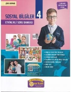 Artım Yayınları 4. Sınıf Sosyal Bilgiler Etkinlikli Soru Bankası