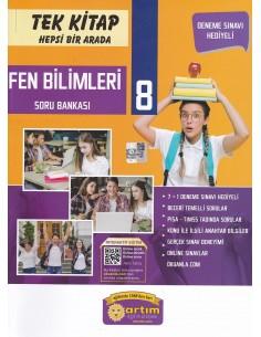 Artım Yayınları 8. Sınıf Fen Bilimleri Soru Bankası