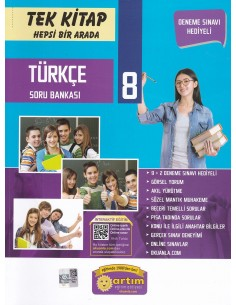 Artım Yayınları 8. Sınıf T.C. İnkılap Tarihi ve Atatürkçülük Soru Bankası