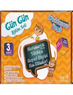 Bilgin Çocuk Yayınları 3. Sınıf Gün Gün Eğitim Seti