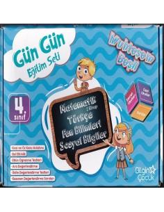 Bilgin Çocuk Yayınları 4. Sınıf Gün Gün Eğitim Seti