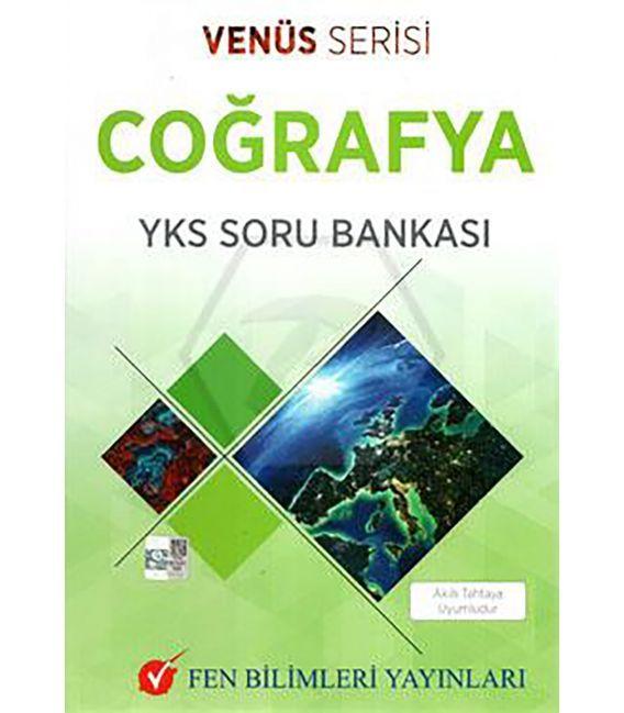 Fen Bilimleri Yayınları TYT AYT Coğrafya Soru Bankası Venüs Serisi
