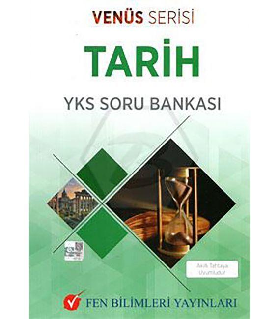 Fen Bilimleri Yayınları TYT AYT Tarih Soru Bankası Venüs Serisi