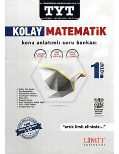 Limit Yayınları TYT Kolay Matematik Konu Anlatımlı Soru Bankası 1.Kitap