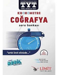 Limit Yayınları TYT Kronometre Coğrafya Soru Bankası