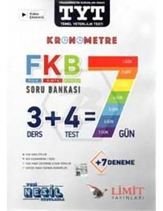 Limit Yayınları TYT Kronometre Fizik Kimya Biyoloji Soru Bankası