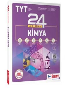 Sınav Yayınları TYT 24 Adımda Kimya Konu Anlatımlı Soru Bankası Yeni