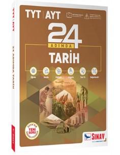 Sınav Yayınları TYT 24 Adımda Tarih Konu Anlatımlı Soru Bankası Yeni