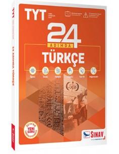 Sınav Yayınları TYT 24 Adımda Türkçe Konu Anlatımlı Soru Bankası Yeni