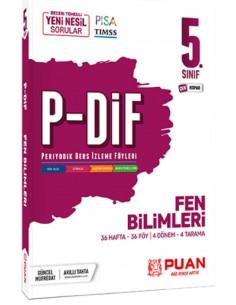 Puan Yayınları 5. Sınıf Fen Bilimleri PDİF Konu Anlatım Föyleri