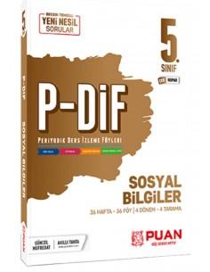 Puan Yayınları 5. Sınıf Sosyal Bilgiler PDİF Konu Anlatım Föyleri