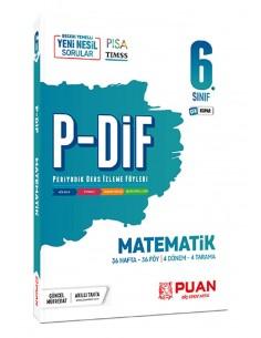 Puan Yayınları 6. Sınıf Matematik PDİF Konu Anlatım Föyleri