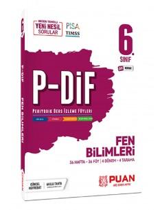 Puan Yayınları 6. Sınıf Fen Bilimleri PDİF Konu Anlatım Föyleri