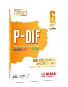 Puan Yayınları 6. Sınıf  Din Kültürü PDİF Konu Anlatım Föyleri