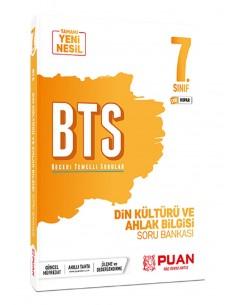 Puan Yayınları 7. Sınıf  Din Kültürü BTS Beceri Temelli Soru Bankası