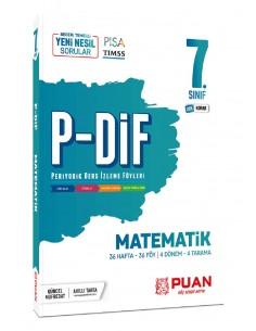 Puan Yayınları 7. Sınıf Matematik PDİF Konu Anlatım Föyleri