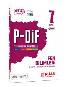 Puan Yayınları 7. Sınıf Fen Bilimleri PDİF Konu Anlatım Föyleri