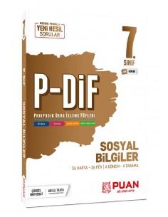 Puan Yayınları 7. Sınıf Sosyal Bilgiler PDİF Konu Anlatım Föyleri