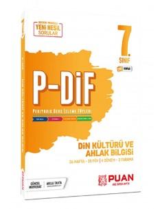 Puan Yayınları 7. Sınıf  Din Kültürü PDİF Konu Anlatım Föyleri
