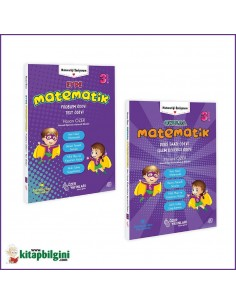 Özer Yayınları Okulda Evde İlkokul 3. Sınıf Matematik Seti