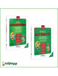 Özer Yayınları Okulda Evde İlkokul 5. Sınıf Matematik Seti