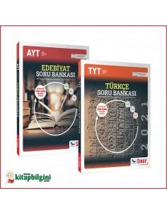 Sınav Yayınları TYT Türkçe AYT Edebiyat Soru Bankası Kampanyalı Set (2 Kitap)