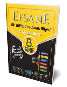 Efsane Yayınları 8. Sınıf Din Kültürü ve Ahlak Bilgisi Soru Bankası