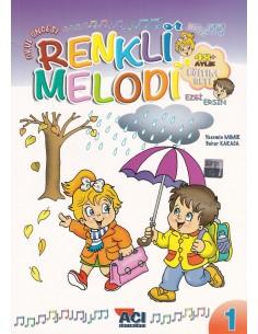 Açı Yayınları Okul Öncesi Renkli Melodi Eğitim Seti (4 Yaş)