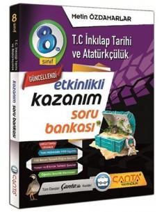 Çanta Yayınları 8. Sınıf İnkılap Tarihi ve Atatürkçülük Soru Bankası