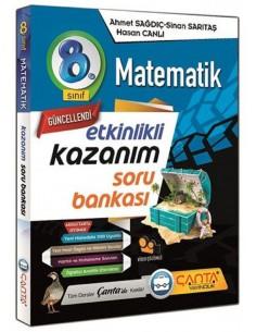 Çanta Yayınları 8. Sınıf Matematik Soru Bankası