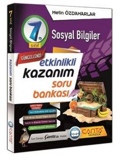 Çanta Yayınları 7. Sınıf Sosyal Bilgiler Soru Bankası