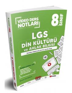 Benim Hocam Yayınları LGS 8. Sınıf Din Kültürü ve Ahlak Bilgisi Video Ders Notları