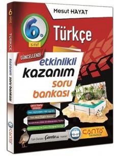 Çanta Yayınları 6. Sınıf Türkçe Etkinlikli Kazanım Soru Bankası