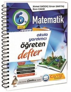 Çanta Yayınları 6. Sınıf Matematik Öğreten Defter