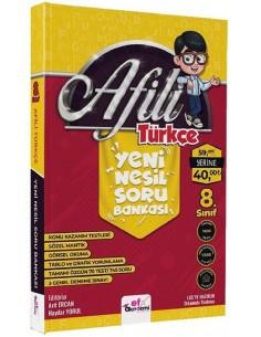 Efx Akademi Yayınları 8. Sınıf LGS Afilli Türkçe Yeni Nesil Soru Bankası