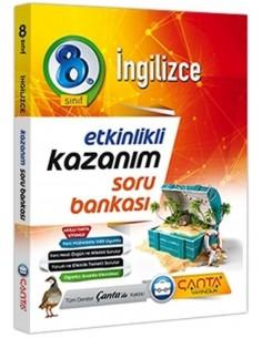 Çanta Yayınları 8. Sınıf İngilizce Kazanım Soru Bankası