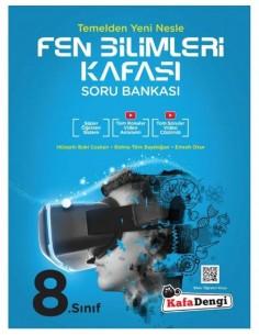 Kafa Dengi Yayınları 8. Sınıf LGS Fen Bilimleri Video Çözümlü Soru Bankası