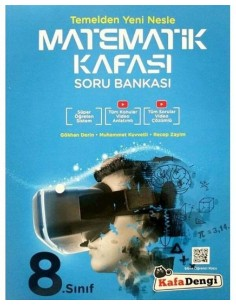 Kafa Dengi Yayınları 8. Sınıf LGS Süper Öğreten Matematik Kafası Soru Bankası