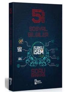 İsem Yayınları 5. Sınıf Farklı İsem Sosyal Bilgiler Soru Bankası