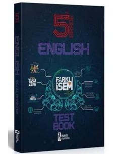 İsem Yayınları 5. Sınıf Farklı İsem İngilizce Soru Bankası