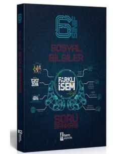 İsem Yayınları 6. Sınıf Farklı İsem Sosyal Bilgiler Soru Bankası