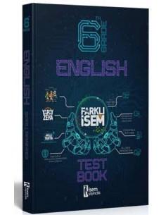 İsem Yayınları 6. Sınıf Farklı İsem İngilizce Soru Bankası