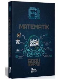 İsem Yayınları 6. Sınıf Farklı İsem Matematik Soru Bankası