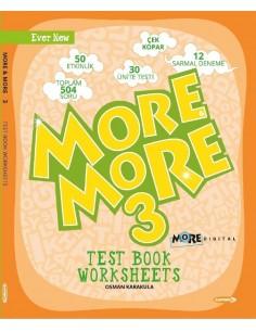 Kurmay Yayınları 3.Sınıf More&More Worksheets & Test Book